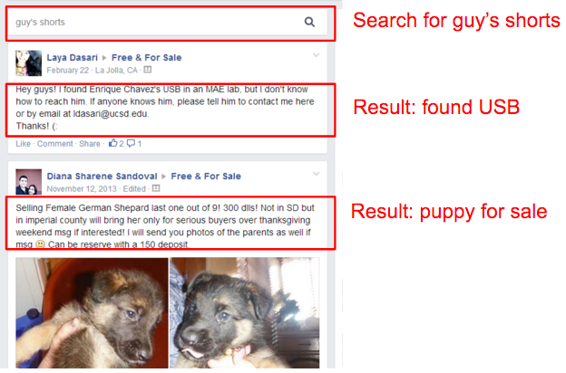 Extremely inaccurate search results