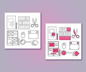 Designer tools icon set